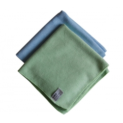 OUT OF STOCK - 2 multi purpose dusters blue/green